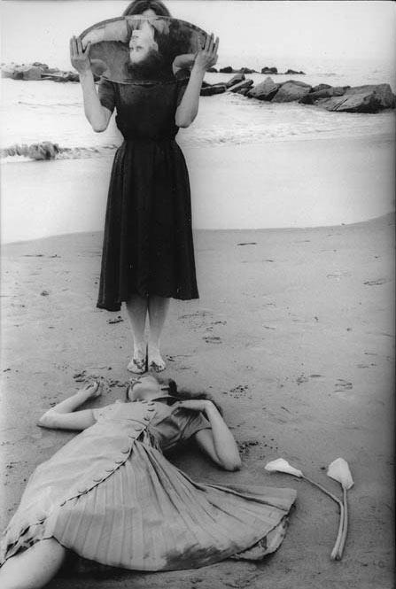 """Fotografía Francesca Woodman, """"Sin título"""", 1979-80"""