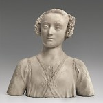 Bust of a Young Woman, Andrea del Verrocchio