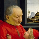 Portrait of an Old Man and a Boy, Domenico Ghirlandaio (Domenico Bigordi)