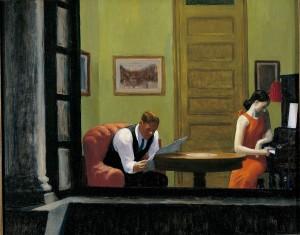 Habitación en Nueva York, Edward Hopper, 1932