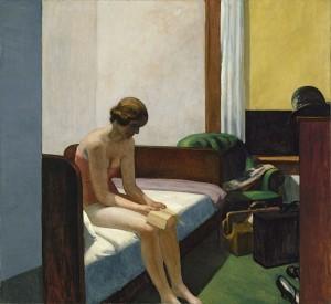 Habitación de hotel, Edward Hopper, 1931