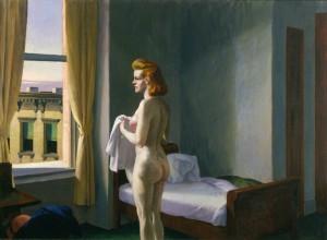 Mañana en una ciudad, Edward Hopper, 1931