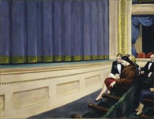 Primera fila, Edward Hopper, 1951