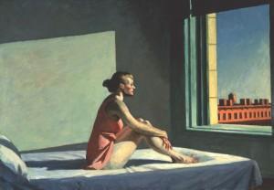 Sol de mañana, Edward Hopper, 1954
