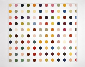 Damien Hirst, Spot Painting, 1991
