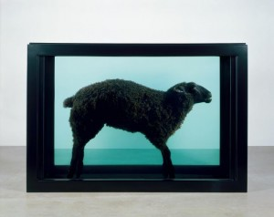 Damien Hirst, Black Sheep, 2007