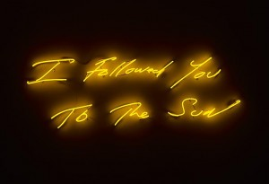 "Tracey Emin, ""I followed you to the sun"""
