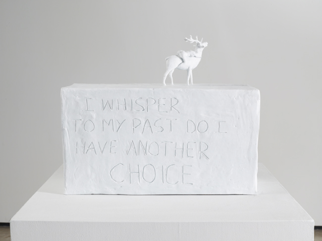 """I whisper to my past do I have another choice"", Tracey Emin"