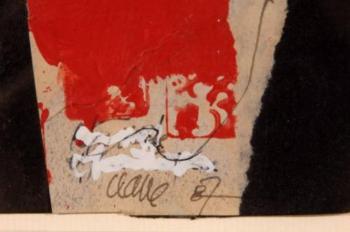 """Clavé, Antoni  - """"Sin título"""" (1987)"""