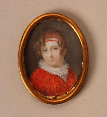 Miniatura de Época Luis XVI. Escuela francesa, hacia 1790