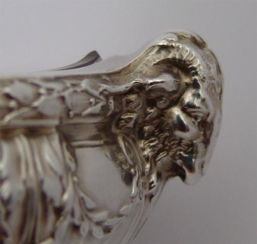 Recipiente plata y cristal estilo Luis XVI. Puiforcat. Francia,