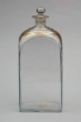 Glass Bottle, Royal Glass Factory La Granja, first third 19th Century