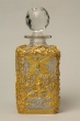 Baccarat crystal bottle (probably), late 19th - early 20th Century