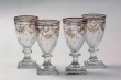 Glass Goblets, Royal Glass Factory La Granja, early 19th Century