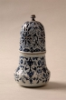 Espolvoreador y jarrones cerámica. Francia, siglo XVIII