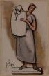 """González, Julio - """"Femme et enfant"""" (1928)"""
