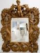 Espejo estilo Fantoni. Bérgamo, Italia. Mediados siglo XVIII