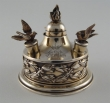 Silver-gilt oil lamp. George Falkenberg. France, Late 19th Century- Early 20th
