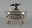 Silver salt- cellar. Mexico City, circa 1810-1818
