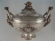 Silver soup tureen. Philippe Berthier. Paris, Mid 19th Century