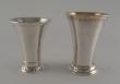 Tres Vasos de plata. Estocolmo, Suecia. 1929,1940 y 1941