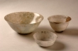 Tres copas de jade. China, siglo XIX