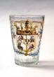 Vaso de vidrio, Centroeuropa, Carlos IV 1789-1808